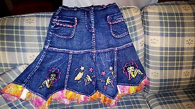 Betty Boop Denim Blue Jean Skirt OFFICIALLY LICENSED