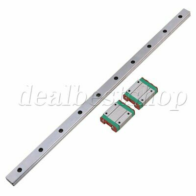 400MM MGN15 Guide Linear Sliding Rails and Block for Linear Sliding set