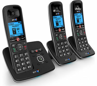 BT 6610 Cordless Phone with Answering Machine Triple H&sets