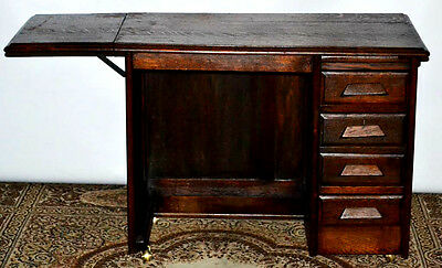 Art Deco Oak Lady's Drop Leaf Desk - FREE Delivery [PL3085]