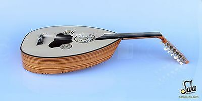 Turkish Professional Half Cut Electric Oud Ud String Instrument AOH-370