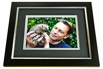 CHRIS PACKHAM SIGNED 10x8 FRAMED Photo Autograph Display AUTUMNWATCH ANIMAL COA