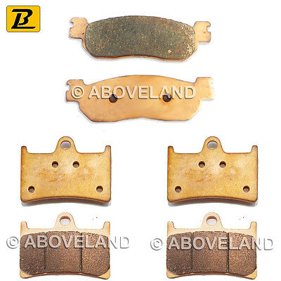 FRONT REAR Sintered Brake Pads for YAMAHA YZF-R1 2002-2003