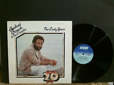 ANDRAE CROUCH & THE DISCIPLES The Early Years  LP  Xian Gospel Jesus   Rare!