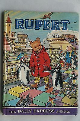 The Daily Express - Vintage Rupert Annual - 1977 - 40 Years Old - Very Good