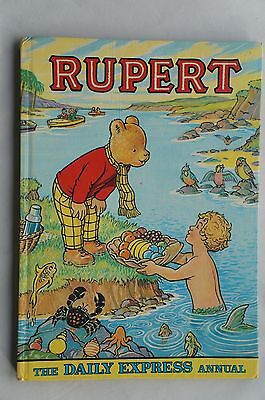 Rupert Annual - The Daily Express - 1975 - Good Condition - 42 Years Old