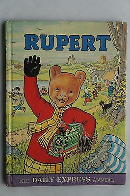 Rupert Annual - The Daily Express - 1976 - Good Condition - 41 Years Old