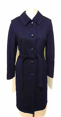LODEN VINTAGE '60 Cappotto Donna Lana Sherlock Woman Wool Coat Sz.L - 46