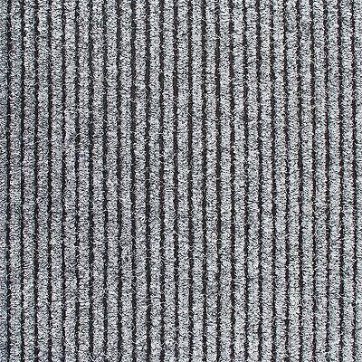 GREY Thick 8mm Entrance Matting Coir Ribbed Door Mat Reception Commercial