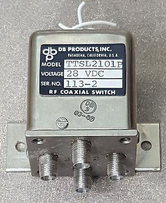 dp products inc RF Coaxial Switch TTSL2101P
