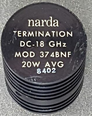 Narda 374BNF 20 Watt Termination - Type N Connector