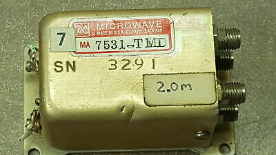 MA Microwave Coaxial Switch MA7531-TMD