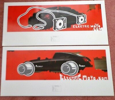 Poster Nissan Advertisement RESPECT POWER  Proof Car Ad Set of 2