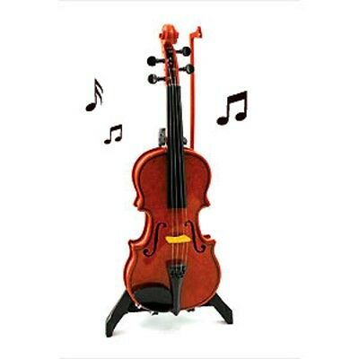ELECTRONIC VIOLIN Plays on it's own when bow drawn accross the strings! New Toy