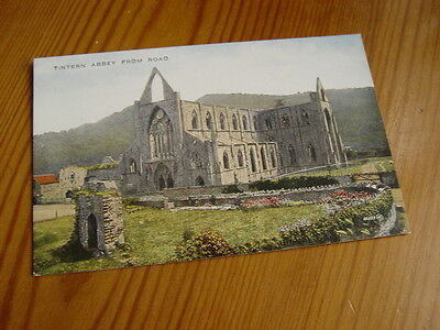 TOP6678 - Valentine's Postcard - Tintern Abbey from Road