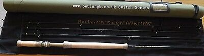 """Beulah Switch 6/7wt 10' 6"""" 4 piece  carbon fly rod first £130 buys it"""