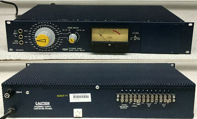 McCurdy SA14023 Extended Range Audio Level Meter