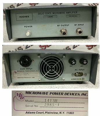 Hughes 1413H Solid State Microwave Amplifier