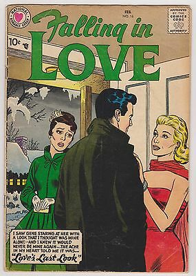 Falling in Love #16, Very Good Condition.
