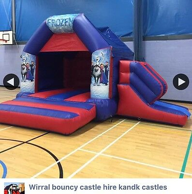 commercial bouncy castle slide