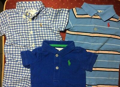 Lot Of 3 Ralph Lauren Polo Baby Boy 3 Months