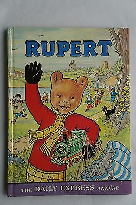 Vintage Rupert Annual - The Daily Express - 1976 - Excellent - Un Clipped