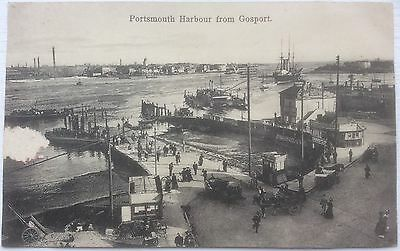 Portsmouth Harbour From Gosport, Postcard, Good Condition
