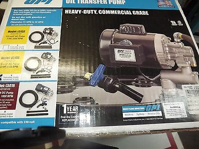 NEW! GPI Oil Transfer Pump Model L5116 (aeb)