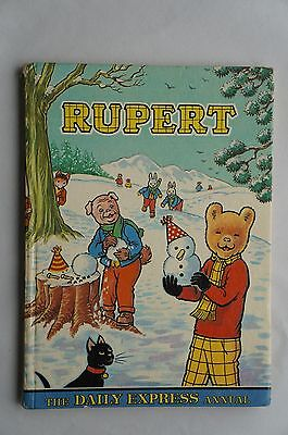 The Daily Express - Rupert Annual - 1974 - 43 Years Old