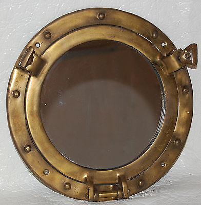 6. Decorative Ship's Porthole Cover With Mirror Instead Of Glass / Nautical