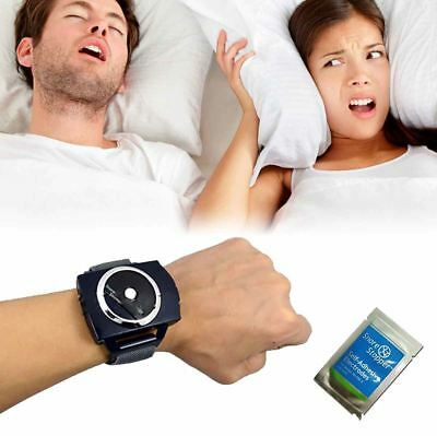 SNORE STOPPER Anti Snoring Wrist Bracelet Watch Device Sleeping Aid Cessation