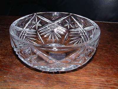COLLECTABLE GALWAY CRYSTAL SYMPHONY BOWL signed & Label