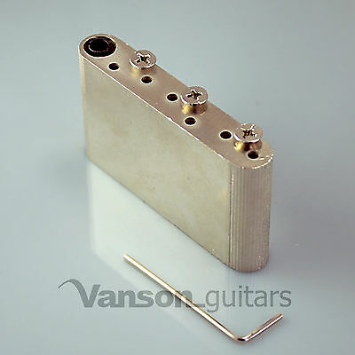Vanson Pro Upgrade Sustain Block for Wilkinson Vintage® Tremolo WV6 WVP6 SB etc
