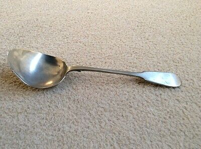 silver plated ladle