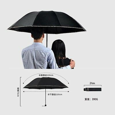 Super Top Quality Business Folding Umbrella Men/Women Sun/Rain Windproof Outdoor
