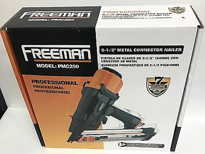 "FREEMAN PMC250 Professional 2-1/2"" Metal Connector Nailer-Brand New in the BOX"