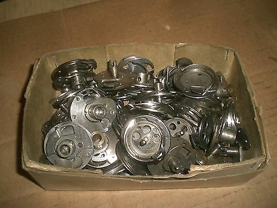 box lot of Vintage Singer rotary Hook assemblies