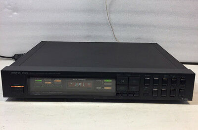 Onkyo Integra T-4017 Quartz Synthesized FM Stereo/AM Tuner - Made in Japan