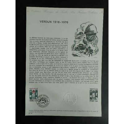 Document officiel - Verdun 1916 - 1976