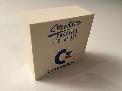 Commodore C64 Creative Education For The 90's Disk Case & 3 Other Cases
