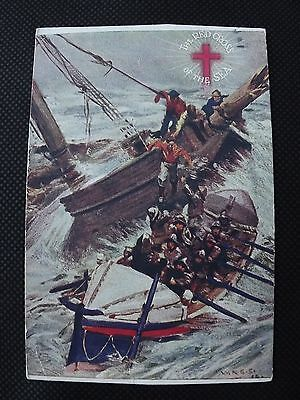 Royal National Life-Boat Institution - The Red Cross of the sea Postcard