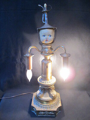 One-of-a-Kind Assemblage Art Lamp
