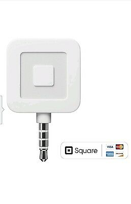 New Square Credit Debit Card Reader for Apple iPhone and Android White