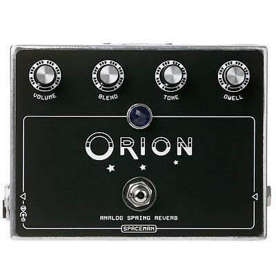 Spaceman Effects Orion Spring Reverb Pedal Silver Limited Edition