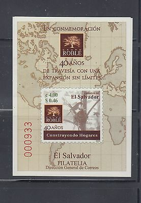 El Salvador 2003 Grupo Roble MS Sc 1580 Mint Never Hinged