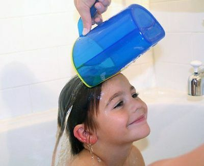 Shampoo Rinse Cup. Baby, Toddler, Child. Soft Flexable Edge. UK Supplier