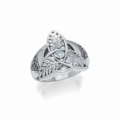 Mickie Mueller Oak Ash Thorn  Sterling Silver Ring by Peter Stone Fine Jewelry