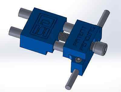 Vise Jaw Stop Locator CNC Mill Machine Work