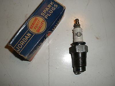 "Vintage NOS Jordan ""TF"" TAP Spark Plug 1/2"" thread Gas Engine Collectible"