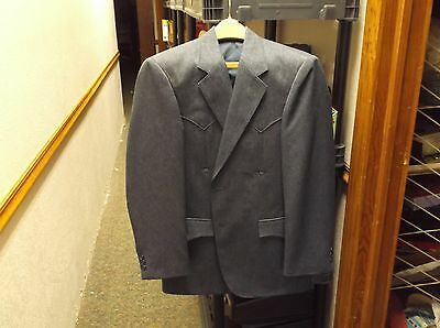"#7 of 10, NICE MENS WESTERN WEAR BLAZER SUIT COAT JACKET BY ""CIRCLE S"" DALLAS TX"